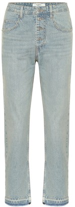 Etoile Isabel Marant Garance high-rise straight jeans