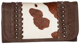 American West Cow Town Trifold Wallet Wallet Handbags