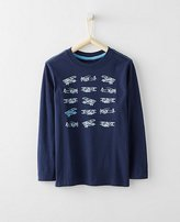 Boys Art Tee In Supersoft Jersey