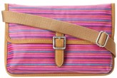 Fossil Key-Per Mini Crossbody, Colorful Stripes SL4139875