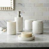 Crate & Barrel Graydon Marble Bath Accessories