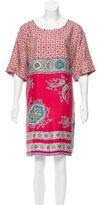 Etro Silk Paisley Print Dress