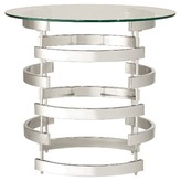Inspire Q Bianca Contemporary Open Accent Table Chrome