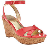 Marc Fisher As Is Cross Strap Wedge Sandals w/Ankle Strap - Welly