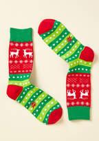 ModCloth Yule Never Walk Alone Socks - Size OS