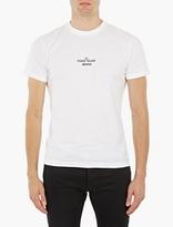 Stone Island White Archivio Print T-Shirt