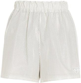 Prada High Waisted Shorts