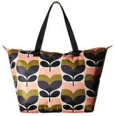 Orla Kiely Stripe Rosebud Zip Shopper