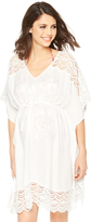 A Pea in the Pod Crochet Maternity Swim Cover-up