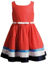 Youngland Girls 4-6x Woven Coral Fashion Dress