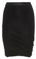 Alexander Wang Draped Jersey Miniskirt