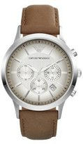 Emporio Armani Men's AR2471 Dress Brown Leather Watch