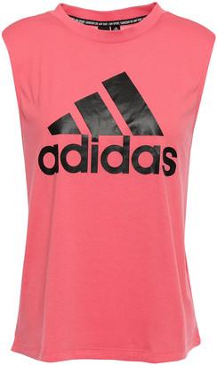 adidas Printed Stretch-jersey Tank