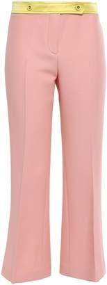 Emilio Pucci Wool-blend Crepe Kick-flare Pants