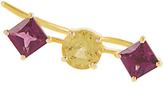 Ileana Makri Sapphire, rodolite & yellow-gold ear cuff