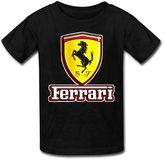 COAO Kid's T shirts Ferrari car logo