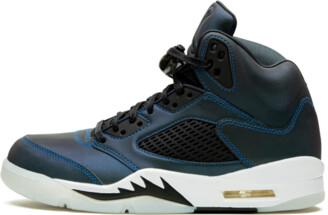 Jordan Air 5 Retro WMNS 'Oil Grey' Shoes - Size 5W