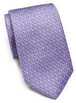 Saks Fifth Avenue Silk Medallion Tie