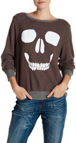 Wildfox Couture Skull Face Pullover