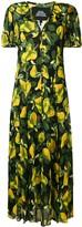 Marc Jacobs pear print long dress