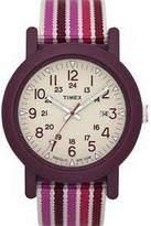 Timex T2N493 Ladies Time Camper Pink Stripe Watch