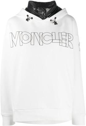 MONCLER GRENOBLE Logo Print Hoodie