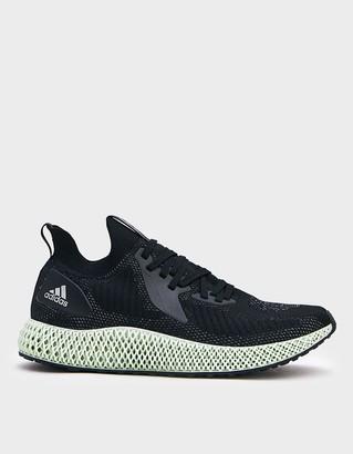 adidas Men's Alphaedge 4D Sneaker in Black, Size 5