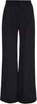 Goat Redford wide-leg wool-crepe trousers