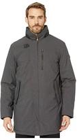 Tumi Business Preferred Tech Mac Jacket (Charcoal Melange) Men's Coat