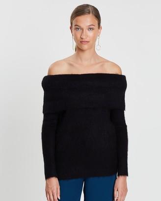 Grace Willow Aspen Cold Shoulder Sweater