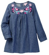 Design History Chambray Dress (Toddler & Little Girls)