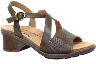 Dromedaris Adjustable Leather Strap Sandals - Sienna