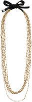 Maria Calderara beads layered long necklace