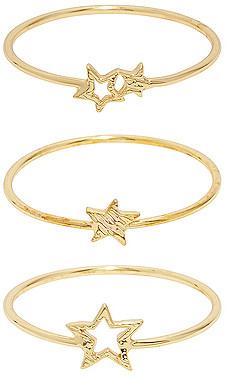 Gorjana Super Star Ring Set