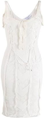 Christian Dior Pre-Owned sleeveless mini dress