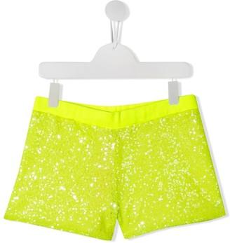 Pinko Kids Sequin Shorts