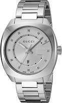 Gucci Men's YA142403 Analog Display Swiss Quartz Silver Watch