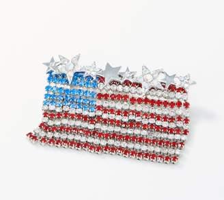 Kirks Folly Horizontal Dancing American Flag Pin