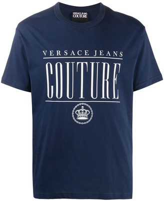 Versace Jeans Couture Logo Print T-Shirt