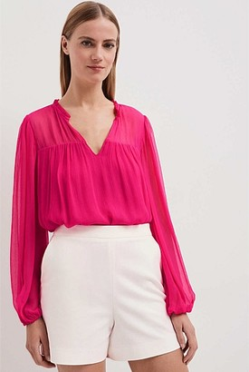 Witchery Peasant Blouse