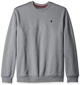 Izod Men's Big and Tall Advantage Performance Solid Crew Fleece