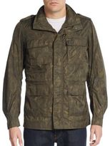 Diesel Jostralo Camoflauge Hooded Jacket