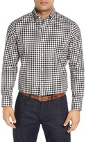 Nordstrom Men's Big & Tall Smartcare(TM) Regular Fit Plaid Sport Shirt