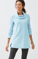 J. Jill Easy Cowl-Neck Tunic Sweater