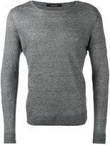 Tagliatore Merlin slim-fit jumper - men - Linen/Flax - 48