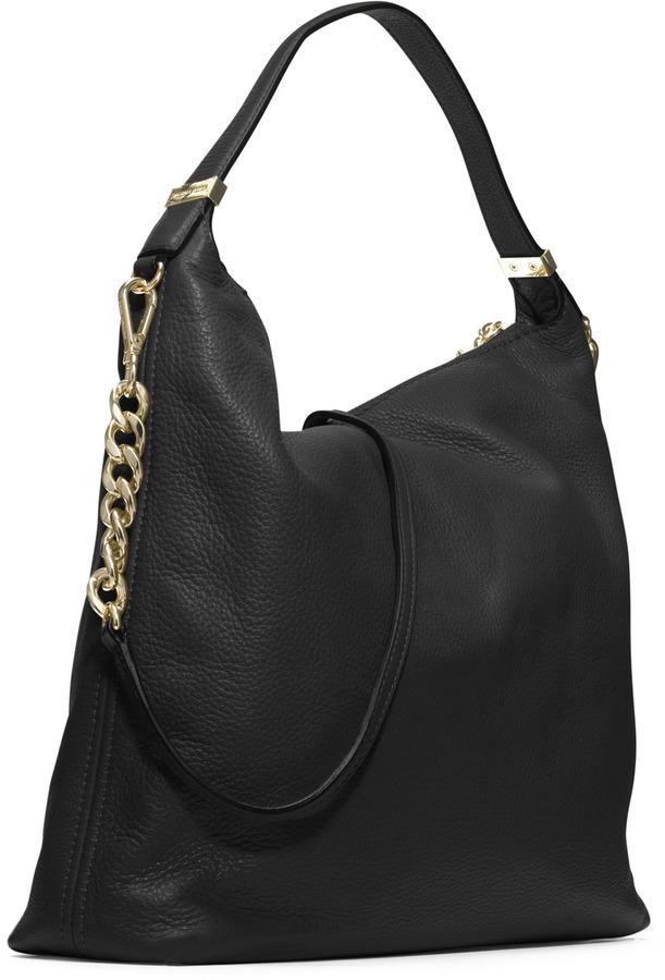 Michael Kors Large Weston Pebbled Shoulder Bag