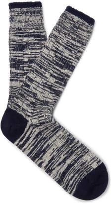 Melange Home The Workers Club Merino Wool And Nylon-Blend Socks