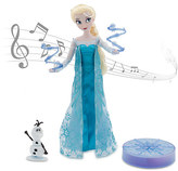 Disney Elsa Deluxe Singing Doll Set - 11''