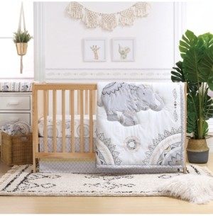 The Peanut Shell The Boho 3-Piece Crib Bedding Set Bedding