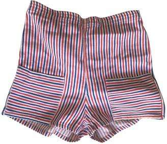 Ohne Titel Multicolour Shorts for Women Vintage